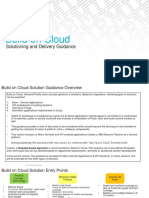 Build on Cloud - Solution and Delivery Guidance