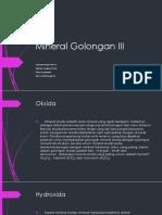 Mineral Golongan III.pptx