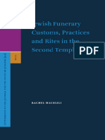 Brill - HACHLILI, Rachel - Jewish Funerary Customs, Practices and Rites in the Second Temple Peri