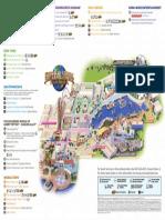 Universal Studios Mapa Ingles Abril 2016
