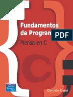 Fundamentos de Programacion Piensa en C