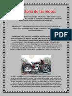 La Historia de Las Motos