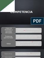 Competencia - Procedimiento