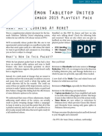 PTU September 2015 Playtest Packet