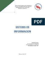 Sistema de Informacion Para El Rrhh