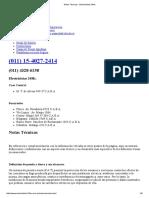 Notas Técnicas - Electricistas-24Hs