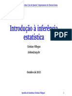 Introducao a Inferencia Estatistica