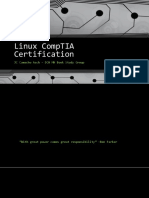 Linux CompTIA Certification - Class 2