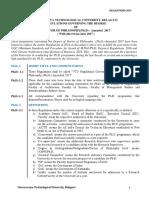 Phd Regulation 2017