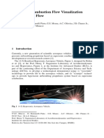 Supersonic Combustion Flow Visualization at Hypersonic Flow