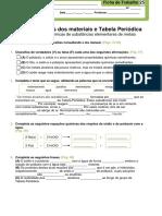 Ficha_trabalho_25_Propriedades Químicas de Substâncias Elementares de Metais