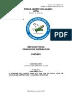 Universidad Abierta Para Adultos Unidad 1 CD Juliana de La Rosa