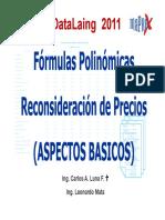 Formulas Polinomicas Datalaing 2011