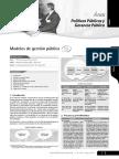 ÁREA Gerencia Pública y Politicas Públicas