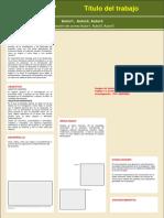 Plantilla PosteresUcentral