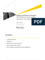 2012 Ernst & Young - Doing Business in Angola