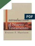 Everett Harrison Introducción Al Nuevo Testamento