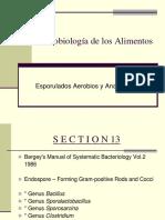 4- Esporulados Aerobios y Anaerobios
