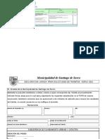 Certificado de Inmueble