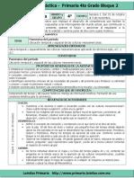 Plan 4to Grado - Bloque 2 Historia (2016-2017)