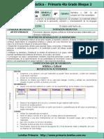 Plan 4to Grado - Bloque 2 Educación Artística (2016-2017)