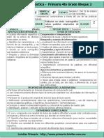 Plan 4to Grado - Bloque 2 Español (2016-2017)