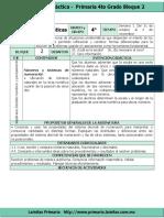 Plan 4to Grado - Bloque 2 Matemáticas (2016-2017)