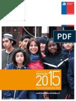 Estadísticas de La Educación 2015