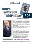 """John Mauck """"Jesus In The Courtroom""""  Media Kit July 2017 Interactive"""