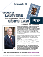 "John Mauck ""Jesus In The Courtroom""  Media Kit July 2017 Interactive"
