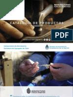 Catálogo de Manufacturas Rurales