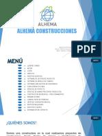 ALHEMA CONSTRUCCIONES PROYECTO