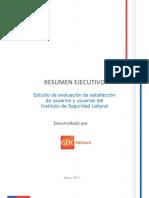 Resumen Ejecutivo Informe Final Satisfaccion 20141