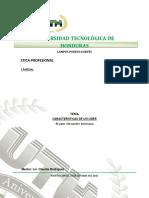 Etica Profesional II Mapa Conceptual