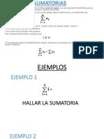 Sumatorias Matematica Basica