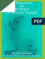 La Busqueda de Sri Krishna (Folleto)