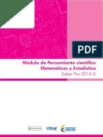 Guia de Orientacion Modulo Pensamiento Cientifico Matematicas y Estadistica Saber Pro 2016 2