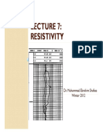 Lecture 07 Resistivity