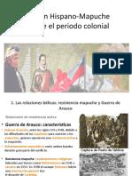 Relación Hispano Mapuche