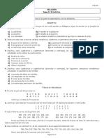 Relación Tema 5. Estadística