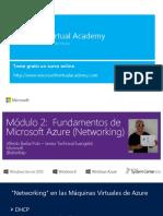 Fundamentos de Microsoft AZUREMod2