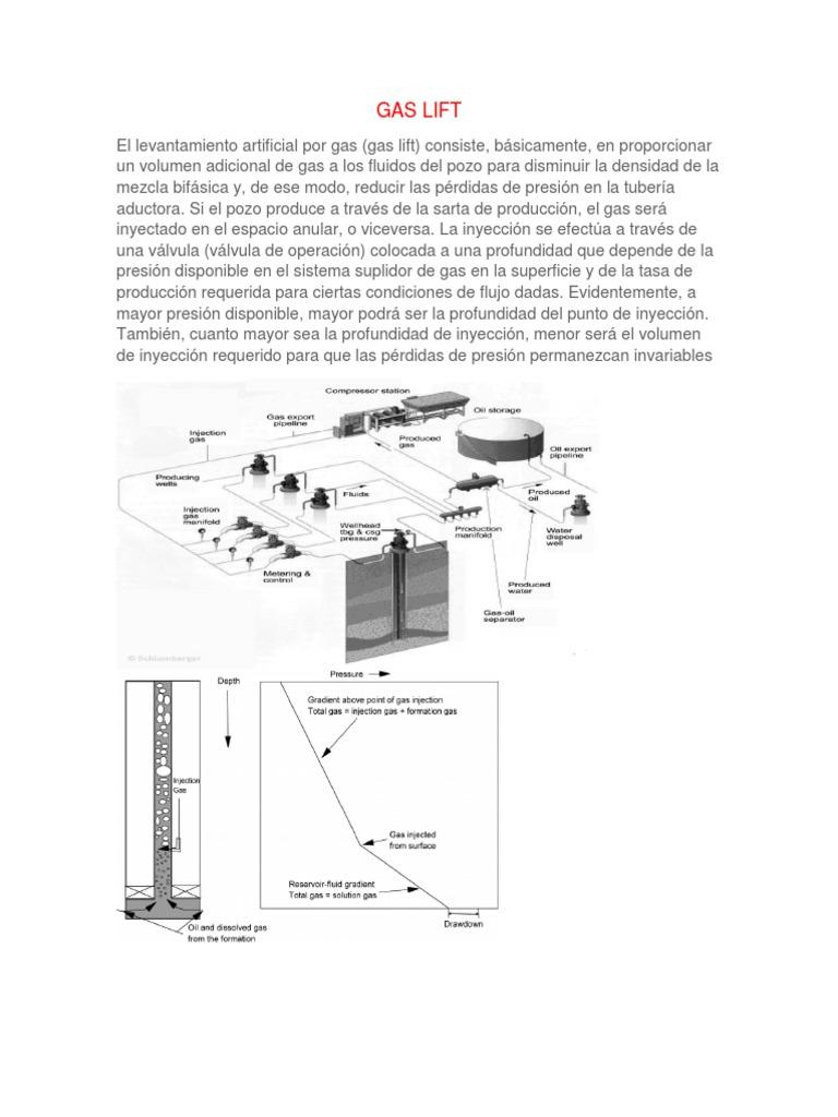 Gas Liftdocx Lift Schematic