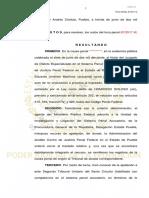 Versión pública de criterio del magistrado del Segundo Tribunal Unitario del Sexto Circuito sobre caso Palmarito