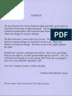 Chelsea Bruck Choices Card