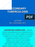 Lecture Secondary Tuberculosis