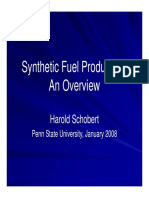 Synthetic Fuel Production - Jan 2008