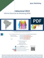 IGM Estadistica Poblacional 2013