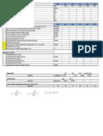 Método de calculo de un sistema de red colectoras