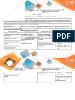 Guía de Actividades y Rúbrica de Evaluación – Fase 1 – Reconocimiento Comunitario