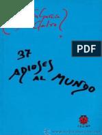 37 Adioses Al Mundo - Agustin Garcia Calvo